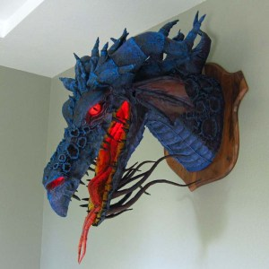 Paper Mache Son of Maleficent