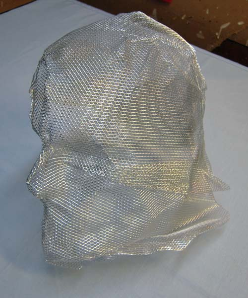 wire armature for paper mache mask