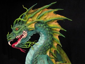 Paper Mache Sea Dragon-Dan Reeder