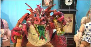 Rum and Paper Mache Dragon