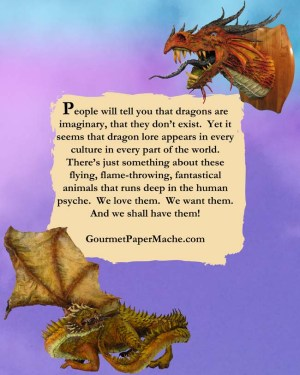 Paper Mache Dragons-back cover