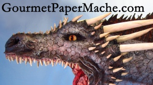 Paper Mache Drogon