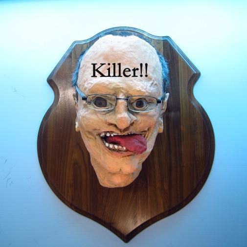 Paper Mache Killer Dentist