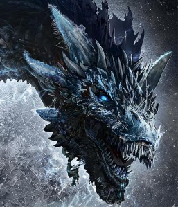 GOT type Ice dragon